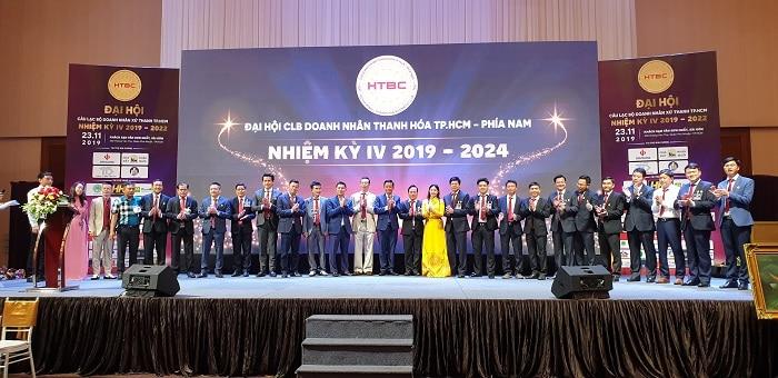 Ban chấp hành nhiệm kỳ 4 CLB Doanh nhân Thanh Hóa tại TP.HCM – phía Nam.